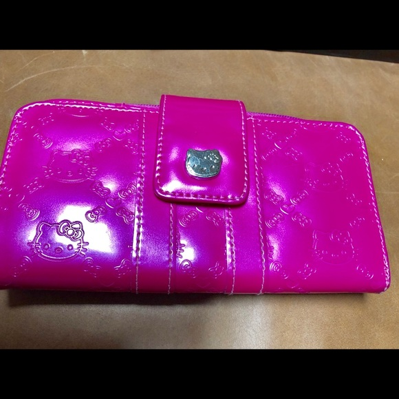908b9f690 Loungefly Hello Kitty Handbags - Hello Kitty Hot Pink Wallet (Loungefly)